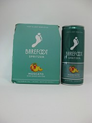 Barefoot Moscato Spritzer 4pk