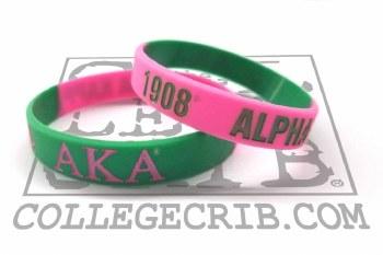 Alpha Kappa Alpha Year Wristband