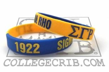 Sigma Gamma Rho Year Wristband