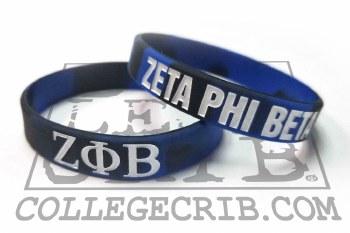 Zeta Phi Beta Year Wristband