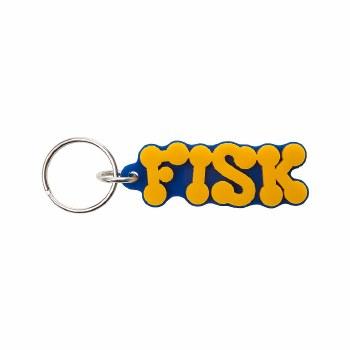 Fisk University Bubble Letter Keychain