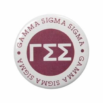 Gamma Sigma Sigma Circle Button