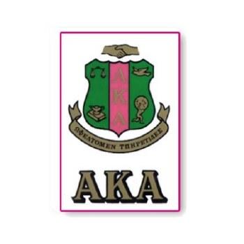 Alpha Kappa Alpha Crest Decal