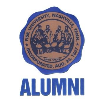 Fisk University Crest Decal