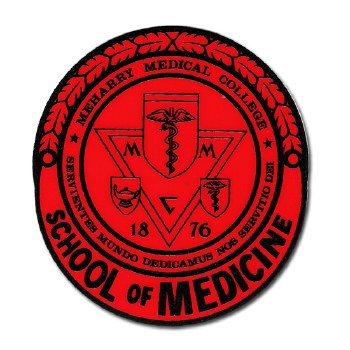 MeHarry Medical College Crest Decal