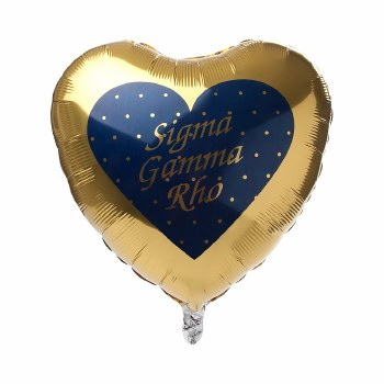 Sigma Gamma Rho Mylar Balloon