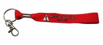 Delta Sigma Theta Ribbon Keychain