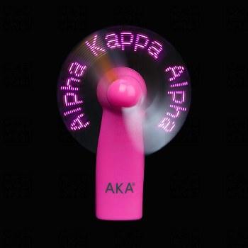 Alpha Kappa Alpha Sororty Lights Fan
