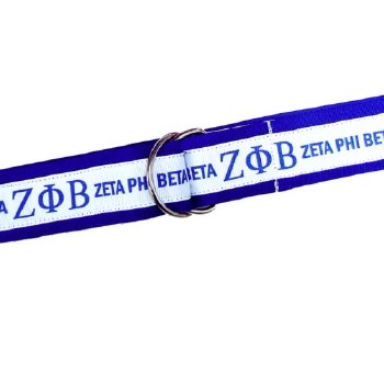 Zeta Phi Beta Ribbon Belt