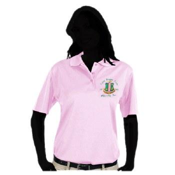 Alpha Kappa Alpha Dry Fit Polo Shirt