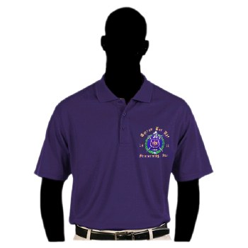Omega Psi Phi Dry Fit Polo Shirt