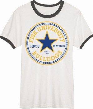 Fisk University All-Star Ringer Tee