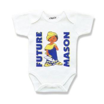 Mason Future Greek Onesie