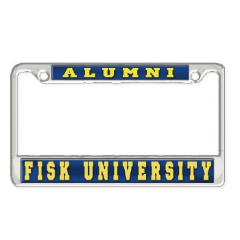 Fisk University Alumni Car Tag Frame