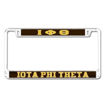 Iota Phi Theta Mirror Car Tag Frame