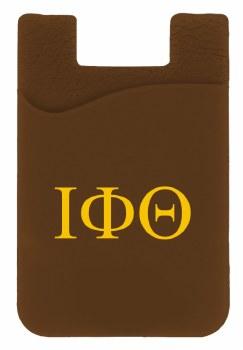 Iota Phi Theta Silicone Card Holder