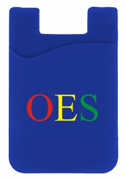 Order of the Eastern Star Silicone Card Holder