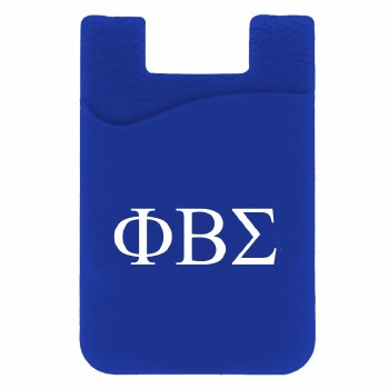 Phi Beta Sigma Silicone Card Holder