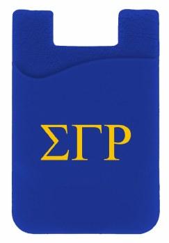 Sigma Gamma Rho Silicone Card Holder