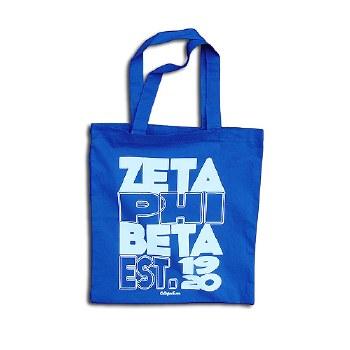 Zeta Phi Beta Est. Tote Bag