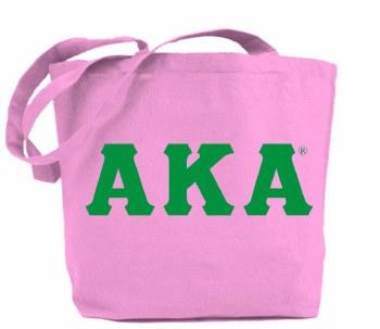Alpha Kappa Alpha Jumbo Tote Bag