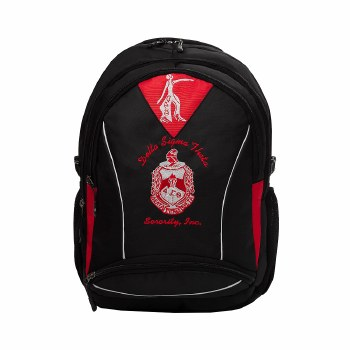 Embroidered Shield Backpack