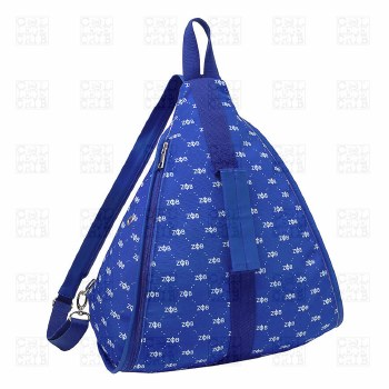 Zeta Phi Beta Pattern Backpack
