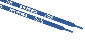 Zeta Phi Beta Shoestrings