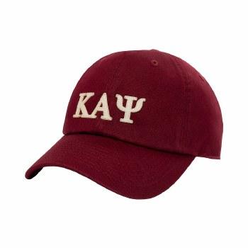 Kappa Alpha Psi Felt Letters Dad Hat