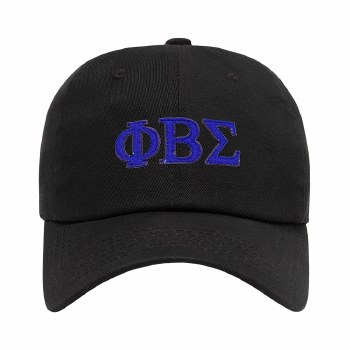 Phi Beta Sigma Felt Letters Dad Hat