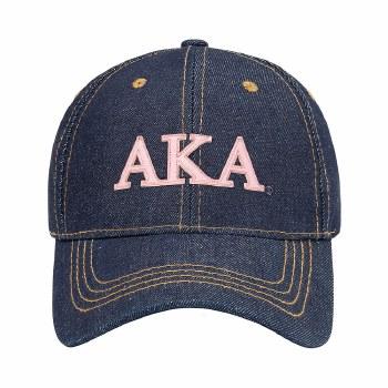 Alpha Kappa Alpha Jean Dad Hat