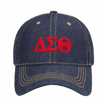 Delta Sigma Theta Jean Dad Hat