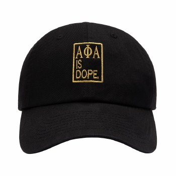 Alpha Phi Alpha Dope Organization Cap