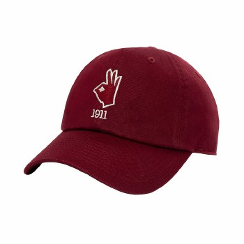 Hand Sign Year Dad Cap
