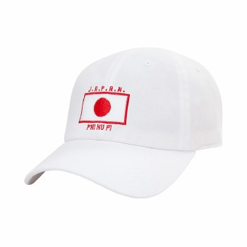 JAPAN Dad Cap White