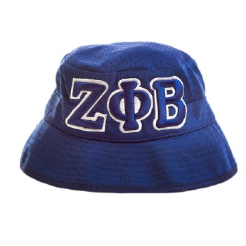 Zeta Phi Beta Mesh Bucket Hat