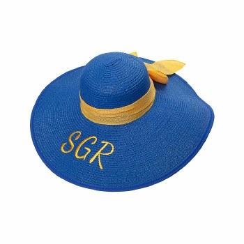 Sigma Gamma Rho Floppy Beach Hat