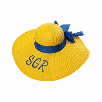 Sigmma Rho Rho Floppy Beach Hat