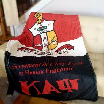 Kappa Alpha Psi Super Soft Blanket
