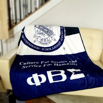 Phi Beta Sigma Super Soft Blanket