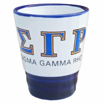 Sigma Gamma Rho Shot Glass