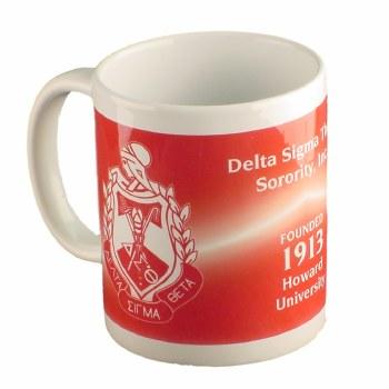 Delta Sigma Theta Crest Coffee Mug