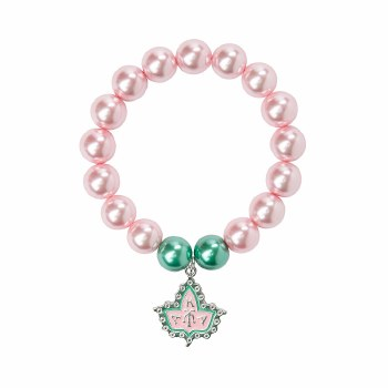 Alpha Kappa Alpha Pearl Mascot Bracelet