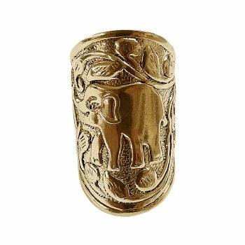 Delta Sigma Theta Elephant Cuff Ring