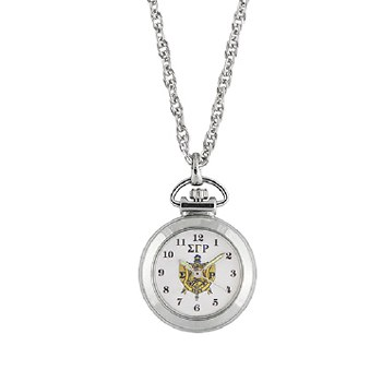 Sigma Gamma Rho Sorority Pendant Watch