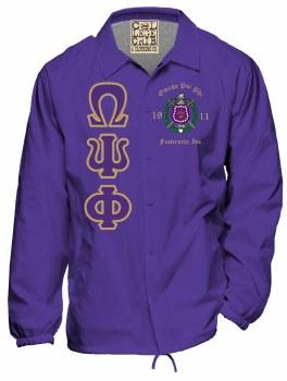 Omega Psi Phi Crossing Jacket