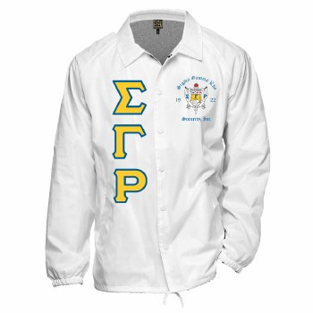 Sigma Gamma Rho Crossing Jacket