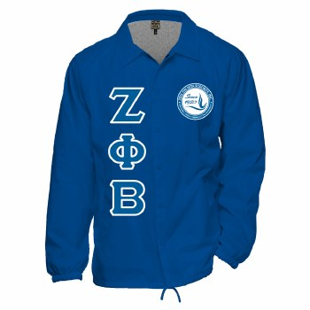 Zeta Phi Beta Crossing Jacket