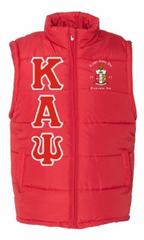 Kappa Alpha Psi Bubble Vest