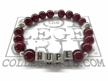Kappa Alpha Psi NUPE Beaded Bracelet